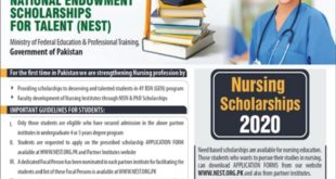 NEST Scholarships