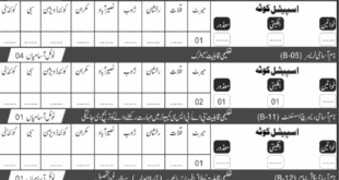 Public Health Engineering Department Jobs 2020 Details Of Balochistan Jobs: # TITLE DETAILS 1 Job's Location Balochistan 2 Published Date 20 January 2020 3 Last Date to Apply 14 February 2020 4 Education Required Check advertisement 5 Newspaper's name JUNG 6 No. Of Posts: 43 For complete details kindly readout above advertisement