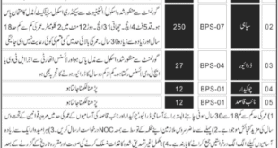 Balochistan levis jobs 2020